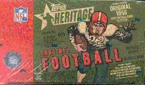 2001 Topps Heritage Football Hobby Box