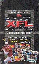 2001 Topps XFL Football Hobby Box