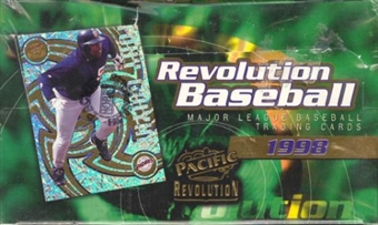 1998 Pacific Revolution Baseball Hobby Box