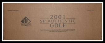 2001 Upper Deck SP Authentic Golf Hobby 12-Box Case