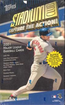2001 Topps Stadium Club Baseball 24 Pack Box