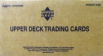 2001 Upper Deck Golf Hobby 12-Box Case