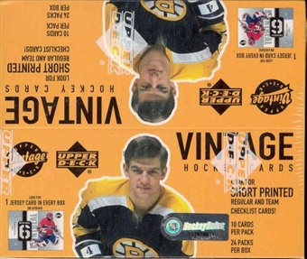 2002/03 Upper Deck Vintage Hockey 24 Pack Box