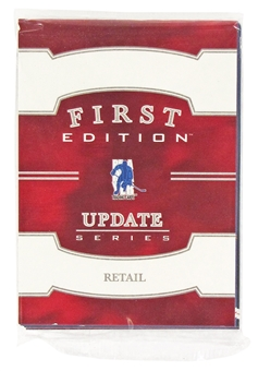 2002/03 In The Game Be A Player First Edition Update Series Hockey Retail Set