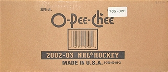 2002/03 O-Pee-Chee Hockey 9-Pack 20-Box Case