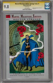 Marvel Milestone Edition: Strange Tales #1 CGC 9.8 Stan Lee Signature Series (W) *0231656010*
