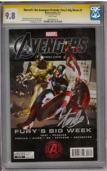 Marvel's the Avengers Prelude: Fury's Big Week #3 CGC 9.8 (W) Stan Lee Signature Series *0231663016*
