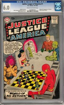 Justice League of America #1 CGC 6.0 (C-OW) *0235865001*