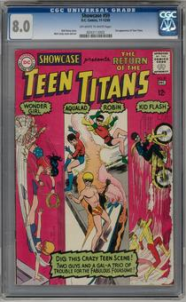 Showcase #59 CGC 8.0 (OW-W) *0243113002*