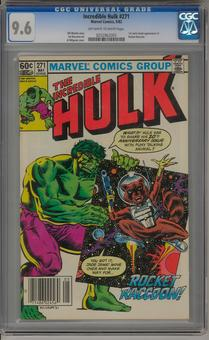Incredible Hulk #271 CGC 9.6 (OW-W) *0252962005*