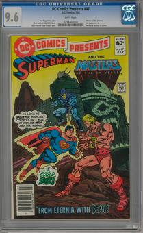 DC Comics Presents #47 CGC 9.6 (W) *0258468004*