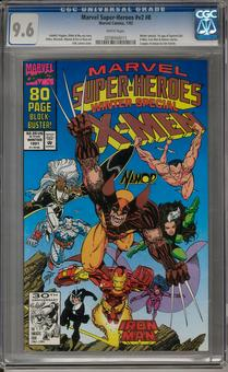 Marvel Super-Heroes #v2 #8 CGC 9.6 (W) *0258468015*