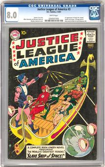 Justice League of America #3 CGC 8.0 (W) *0264507005*