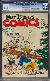Walt Disney Comics and Stories #4 CGC 6.5 (OW-W) *0266285006*