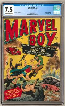 Marvel Boy #1 CGC 7.5 (C-OW) *0286240010*