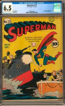 Superman #13 CGC 6.5 (OW-W) *0288402003*
