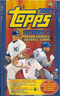 2002 Topps Series 2 Baseball Jumbo Box