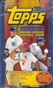 2002 Topps Series 2 Baseball Hobby Box