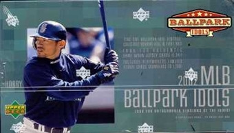 2002 Upper Deck BallPark Idols Baseball Hobby Box