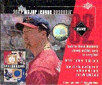2002 Upper Deck Diamond Connection Baseball Hobby Box