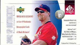 2002 Upper Deck SP Authentic Baseball Hobby Box
