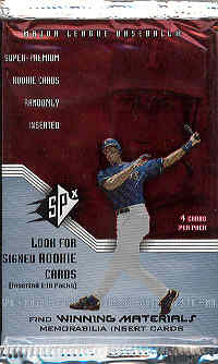 2002 Upper Deck SPx Baseball Base Set (NM-MT)