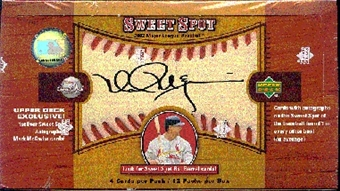 2002 Upper Deck Sweet Spot Baseball Hobby Box