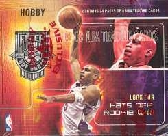 2002/03 Fleer Hot Shots Basketball Hobby Box