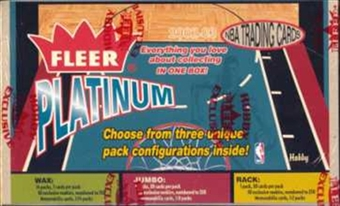 2002/03 Fleer Platinum Basketball Hobby Box