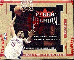 2002/03 Fleer Premium Basketball Hobby Box
