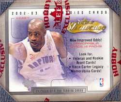 2002/03 Fleer Showcase Basketball Hobby Box