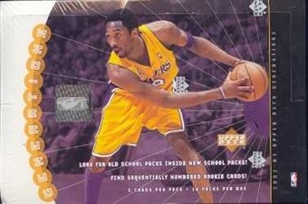 2002/03 Upper Deck Generations Basketball Hobby Box