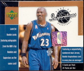 2002/03 Upper Deck Inspirations Basketball Hobby Box