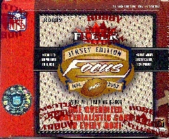 2002 Fleer Focus Football Hobby Box
