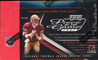 2002 Playoff Piece of the Game Football Hobby 6 Pack Lot