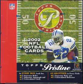 2002 Topps Pristine Football Hobby Box