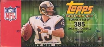 2002 Topps Football Factory Set (Box)