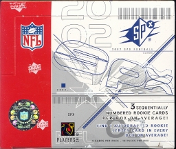 2002 Upper Deck SPx Football Hobby Box