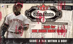 2002 Fleer Box Score Baseball Hobby Box