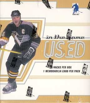 2002/03 Be A Player In The Game Used Hockey Hobby Box