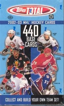 2002/03 Topps Total Hockey Hobby Box