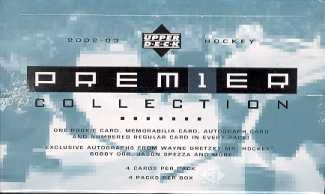 2002/03 Upper Deck Premier Collection Hockey Hobby Box