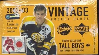 2002/03 Upper Deck Vintage Hockey Hobby Box