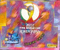 2002 Panini World Cup Soccer Hobby Box