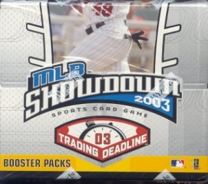 WOTC MLB Showdown 2003 Trading Deadline Baseball Booster Box