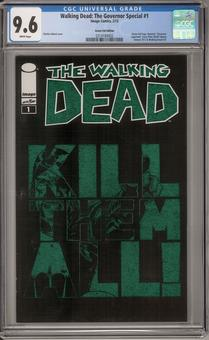 Walking Dead: The Governor Special #1 CGC 9.6 (W) *0314184002*