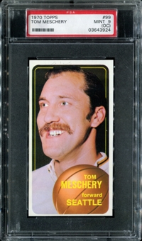 1970/71 Topps Basketball #99 Tom Meschery PSA 9 (MINT) (OC) *3924