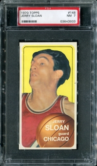 1970/71 Topps Basketball #148 Jerry Sloan PSA 7 (NM) *3933