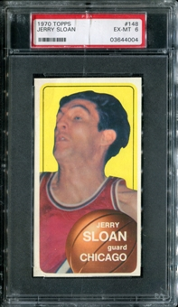1970/71 Topps Basketball #148 Jerry Sloan PSA 6 (EX-MT) *4004
