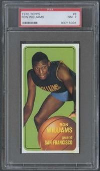 1970/71 Topps Basketball #8 Ron Williams PSA 7 (NM) *5301